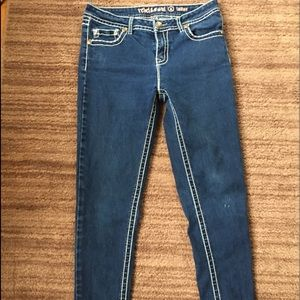 REBEL AND SOUL BRAND JEAN DENIEM SKINNY SZ 8